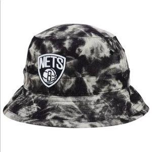 1aa0ce14989 NBA Accessories - Mitchell   Ness Brooklyn Nets NBA Bucket hat